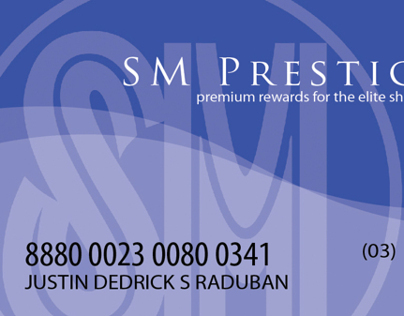 SM Prestige Card design