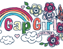Gap Girl Graphics