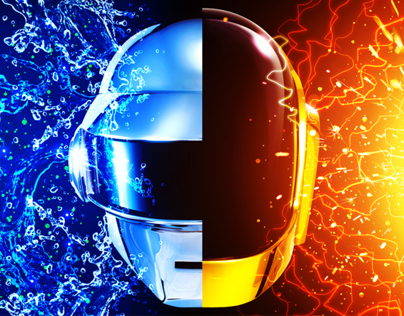 2013 Daft Punk Album Cover Remix