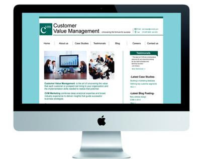 CVM website redesign