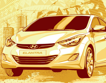 Hyundai PH Pop Art Winning Entry