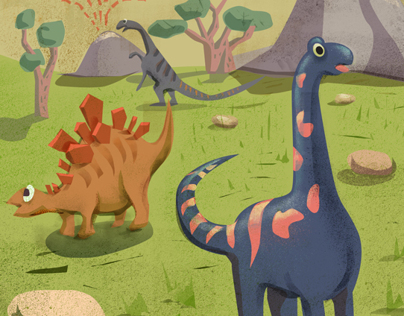 Dinosaurs illustrations