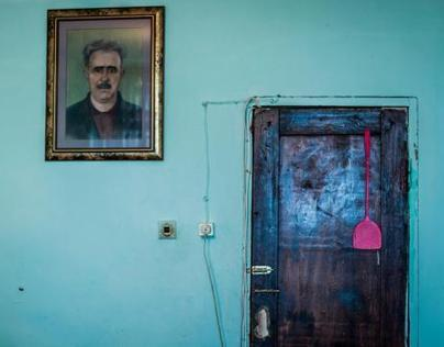 Hostel where displaced people from Khojaly live