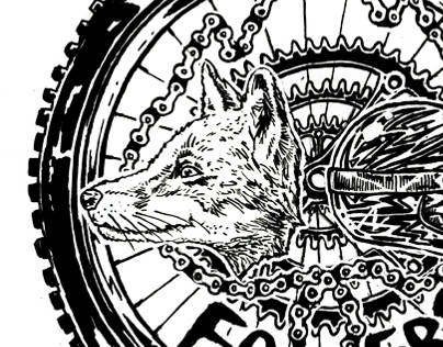 Foxers Mountain Bike Club Logo