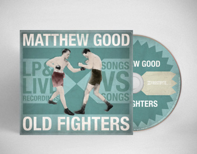 Matthew Good Old Fighters Album + Merchandise Design