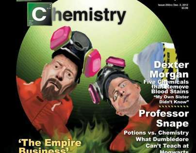 Crime & Chemistry Magazine Cover