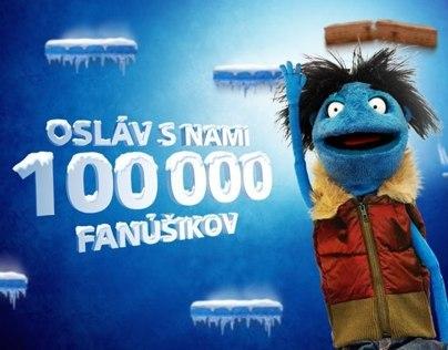 O2 100 000 fans