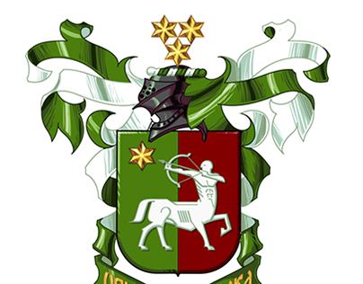 Alexander E Petrovs Coat of arms