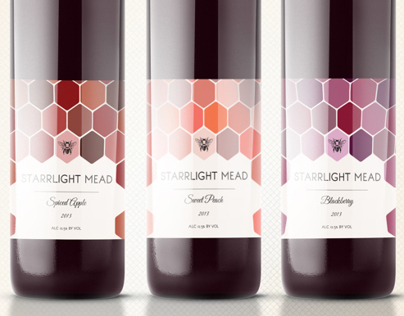 Wine Label Packaging: Starrlight Mead