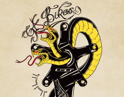 GT Bikes Tattoo Design