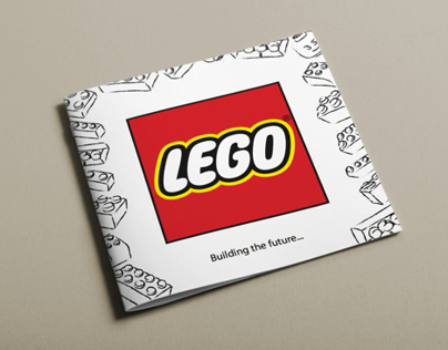 Lego YCN (part 2) - 'building the future' brochure