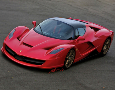 "Ferrari ""Project F150"" Speculation Renderings"