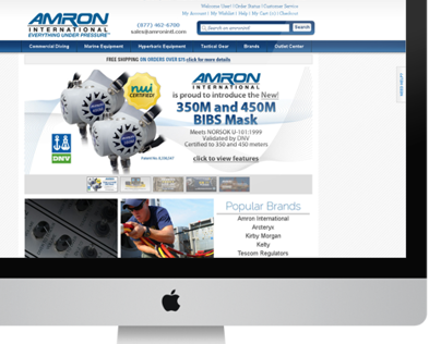 Amron International Website