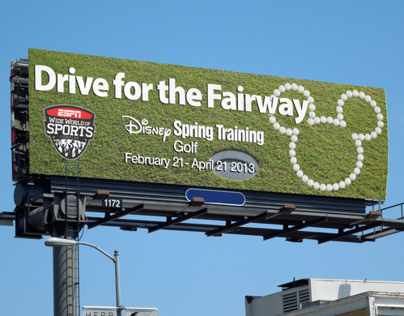 ESPN Wide World of Sports Billboard Ads