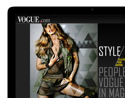 VOGUE Korea webpage redesign