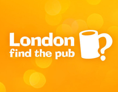 iPhone app brand design: London Find the Pub