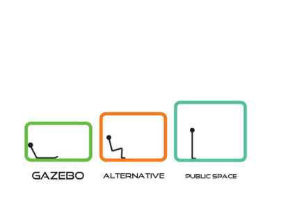 """GAZEBO"" -alternative public space"