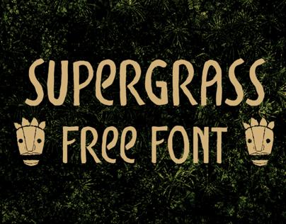 Supergrass - free font