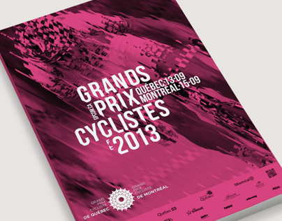 Branding for 2013 Grands Prix Cyclistes™