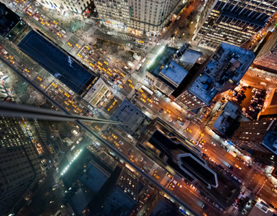 Intersection   NYC – Night