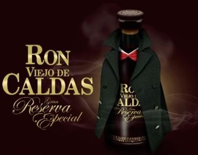 // RON VIEJO DE CALDAS // Gran Reserva 12 Años //