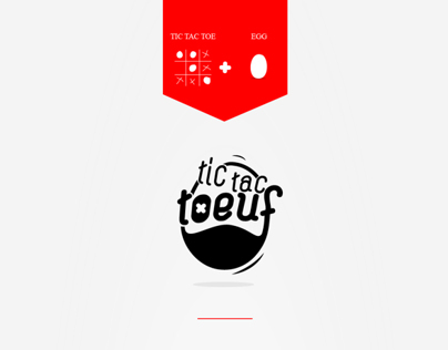 Branding&Packaging / TicTacToeuf (Student Work)