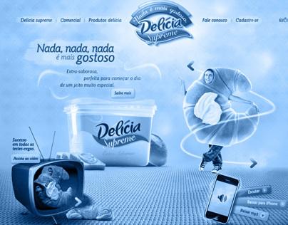 Delícia Supreme // Website