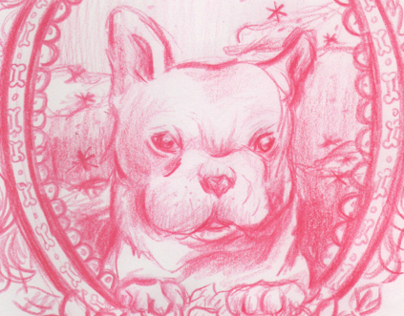 French Bulldog Portrait