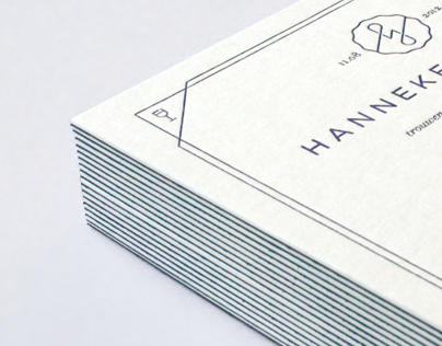 Hanneke & Jeroen - Wedding invitation