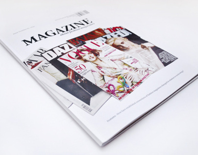 Magazine about Fashion Magazines