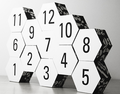 Hexagon Modular Calender