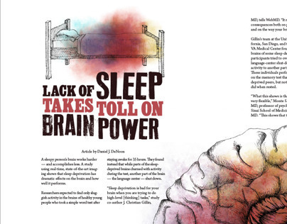 Brain Power Magazine Article Spread