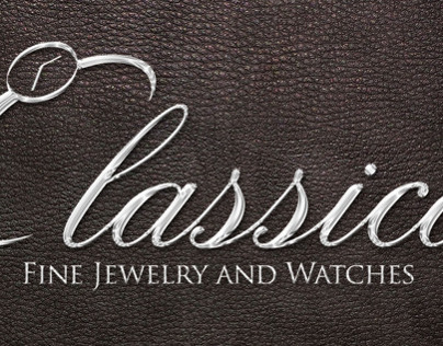 Classica Fine Jewelry and Watches Logo & Billboard