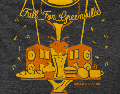 Fall For Greenville T-shirt