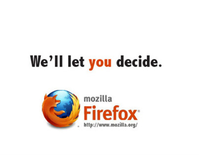 Mozilla Firefox All Type Advertisements