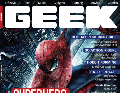 Geek Magazine Redesign