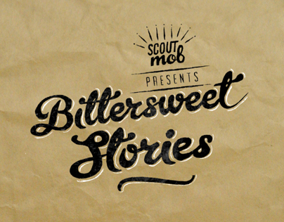 Bittersweet Stories Event Branding