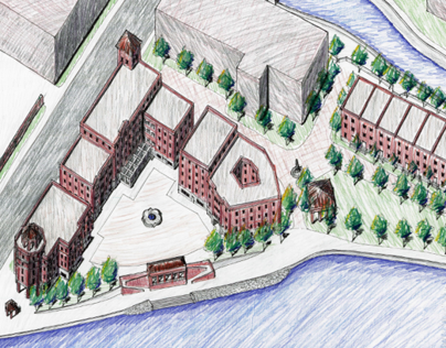 South Bend Wharf Riverfront Development