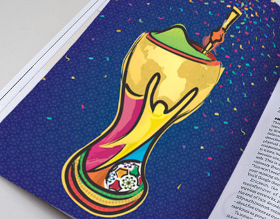 World Cup 2014. Porto Alegre Host City Poster Proposal