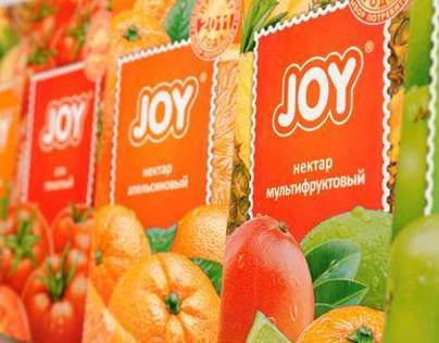 JOY. Redesign of a juice packaging