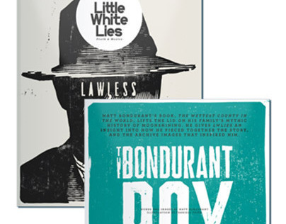 Little White Lies Lawless Illustration and Lettering