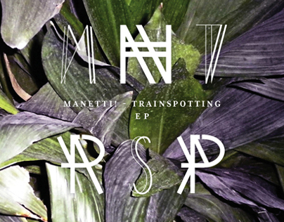 Manetti! Trainspotting EP Cover