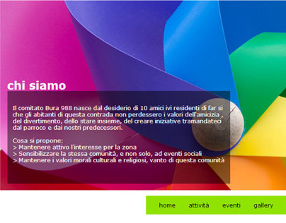 Website restyling