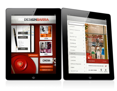 RIO DESIGN BARRA APP (iPad/iPhone)