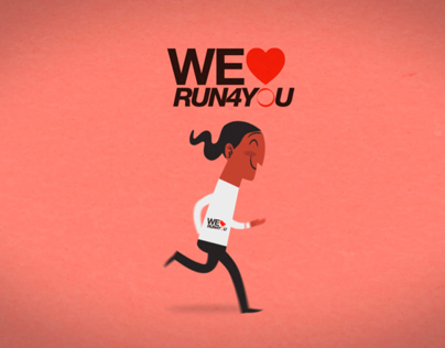 We Love Run4You, 2d animation