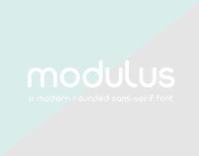 Modulus Font