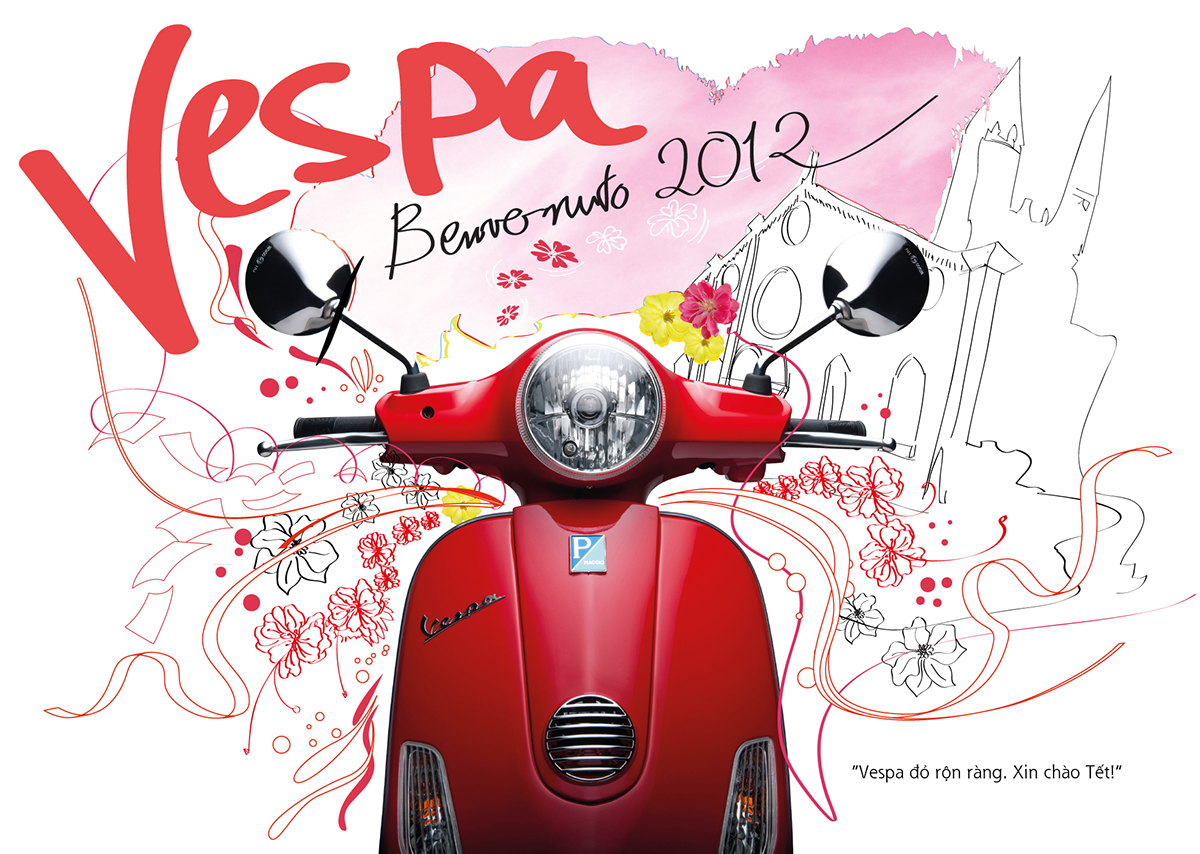 Premium Vespa Calendar
