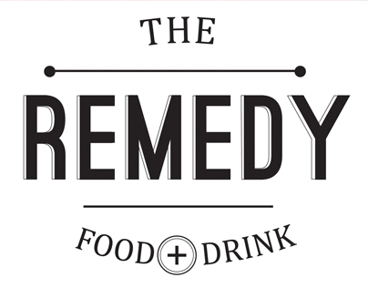 Remedy Food + Drink branding