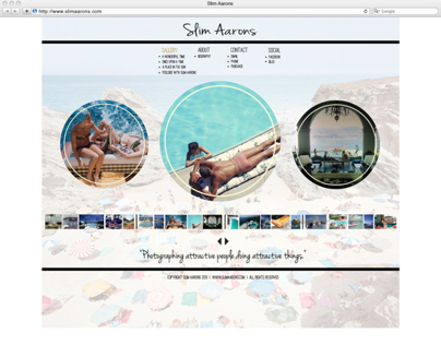 Slim Aarons Website
