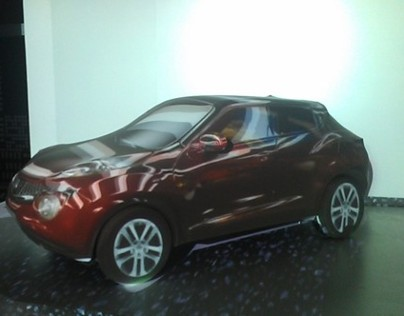 Nissan Juke 3D video mapping
